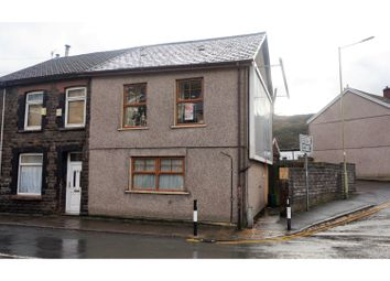 Thumbnail 5 bed end terrace house for sale in Ystrad Road, Pentre