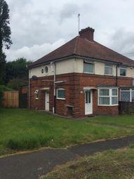 Thumbnail 1 bedroom maisonette to rent in Severne Road, Acocks Green