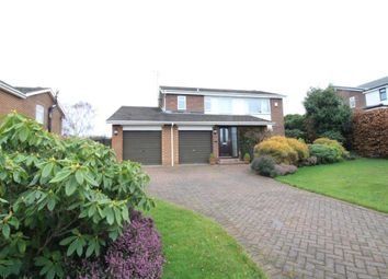 Thumbnail 3 bed detached house for sale in Linden Way, Darras Hall, Newcastle Upon Tyne, Northumberland