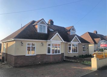 Thumbnail 2 bed semi-detached bungalow for sale in The Hillway, Portchester, Fareham