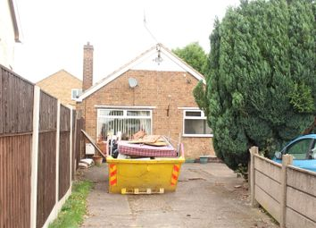 Thumbnail 2 bed detached bungalow for sale in Hartley Road, Kirkby-In-Ashfield, Nottingham