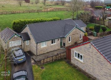 Thumbnail 4 bed detached bungalow for sale in Hurstwood Gardens, Brierfield, Nelson