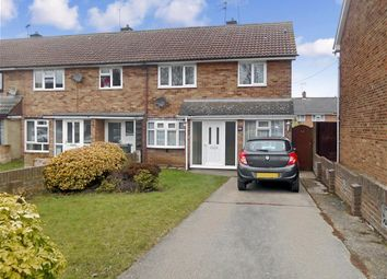 Thumbnail 3 bedroom end terrace house for sale in Copdoek, Basildon, Essex