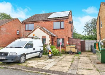 Thumbnail 2 bedroom semi-detached house for sale in Manor Close, Hockering, Dereham