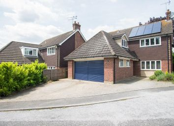 Thumbnail 4 bed detached house for sale in Thomas Close, Brentwood