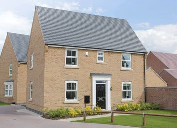 "Thumbnail 3 bed detached house for sale in ""Hadley"" at Millgarth Court, School Lane, Collingham, Wetherby"