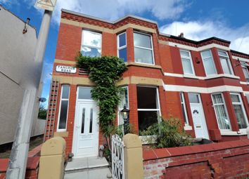 Thumbnail 3 bed end terrace house for sale in Tancred Road, Wallasey