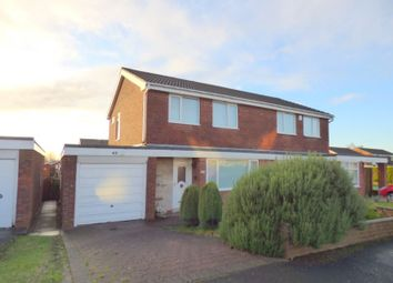 Thumbnail 3 bedroom semi-detached house for sale in Coverdale, Wallsend