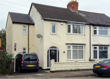 Thumbnail 4 bed semi-detached house for sale in Woodville Road, Leicester