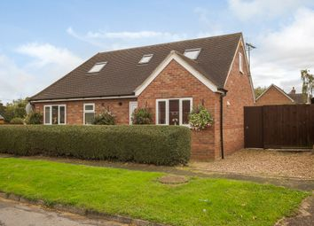 Thumbnail 4 bedroom bungalow for sale in Orchard Close, Cottenham, Cambridge