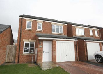 Thumbnail 3 bed detached house for sale in Sandringham Way, Newfield, Chester Le Street, County Durham