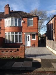 Thumbnail 3 bedroom semi-detached house to rent in Fairholme Road, Withington, Manchester