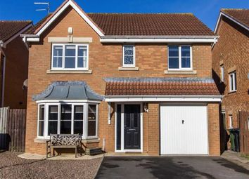 Thumbnail 4 bed detached house for sale in Belsay Grove, Bedlington