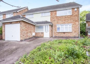 Thumbnail 5 bedroom detached house for sale in Harefield Avenue, Rowley Fields, Leicester, Leicestershire