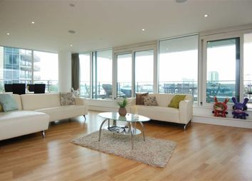 Thumbnail 3 bed flat to rent in Ensign House, Juniper Drive, Battersea, London