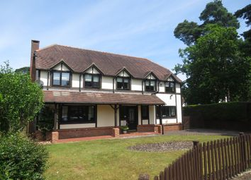 Thumbnail 4 bedroom detached house for sale in Pinewood Gardens, Ferndown