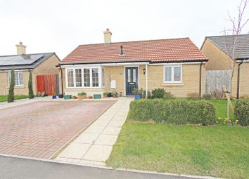 Thumbnail 2 bed detached bungalow for sale in Mayfield Gardens, Baston, Peterborough