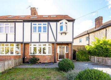 Thumbnail 4 bed semi-detached house for sale in Tavistock Avenue, St. Albans, Hertfordshire