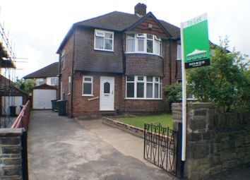 Thumbnail 3 bed semi-detached house to rent in Allerton Road, Bradford
