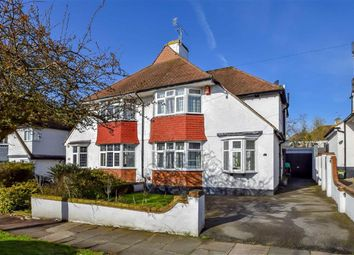 Thumbnail 3 bed semi-detached house for sale in Cottesmore Gardens, Leigh-On-Sea, Essex