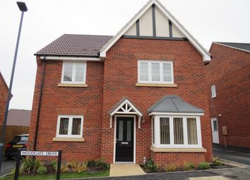 Thumbnail 4 bed detached house to rent in Woodgate Drive, Chellaston, Derby