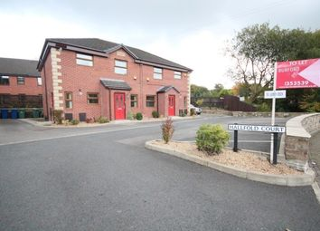 Thumbnail 2 bed flat to rent in Hall Fold Court, Spodden Fold, Whitworth