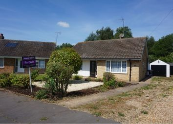Thumbnail 2 bed detached bungalow for sale in Elmfield Drive, Wisbech