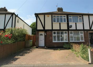 Thumbnail 2 bedroom semi-detached house to rent in Burwood Close, Hersham, Walton-On-Thames, Surrey