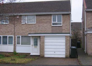 Thumbnail Semi-detached house to rent in Faversham Court, Kingston Park