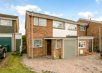 Thumbnail 3 bed end terrace house for sale in Holcon Court, Redhill, Surrey