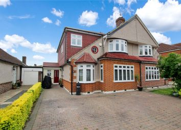 Thumbnail 4 bed semi-detached house for sale in Melville Road, Sidcup, Kent