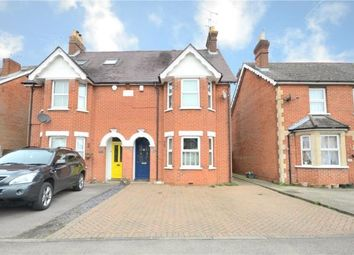 Thumbnail 4 bed semi-detached house for sale in Yorktown Road, College Town, Sandhurst