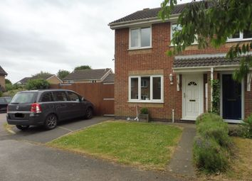 Thumbnail 3 bedroom semi-detached house for sale in Redwing Close, Oakham