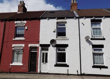 Thumbnail 3 bed terraced house for sale in Percy Street, Middlesbrough