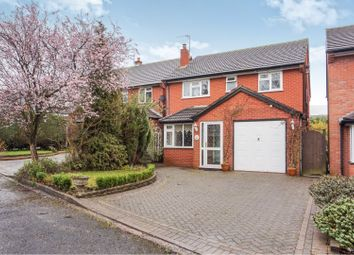 Thumbnail 4 bedroom detached house for sale in Walsall Road, Churchbridge, Cannock
