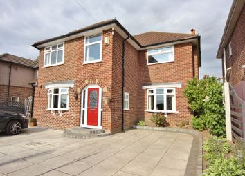 Thumbnail 4 bed detached house for sale in Queens Drive, Prenton, Wirral