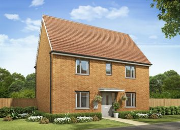 "Thumbnail 3 bed detached house for sale in ""The Birch "" at Fields Road, Wootton, Bedford"