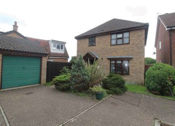 Thumbnail 3 bed detached house for sale in Cormorant Way, Bradwell, Great Yarmouth