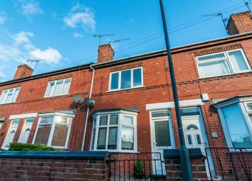 Thumbnail 2 bed terraced house to rent in Burton Avenue, Doncaster