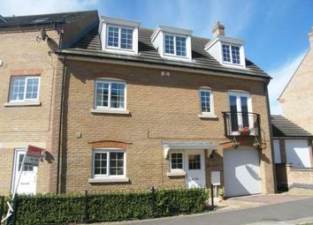 Thumbnail 4 bedroom semi-detached house to rent in Lady Charlotte Road, Hampton Hargate, Peterborough