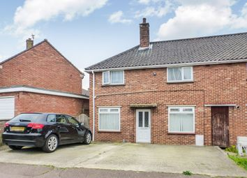 Thumbnail 3 bedroom end terrace house for sale in Fitzgerald Road, Norwich