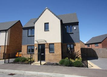 Thumbnail 3 bed detached house for sale in Chamberlain Way, Peterborough