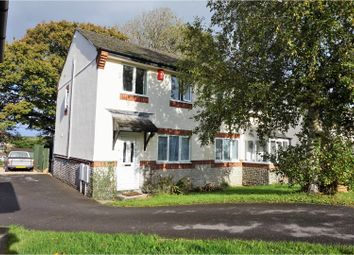 Thumbnail 3 bed semi-detached house for sale in Craon Gardens, Okehampton