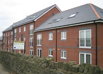 Thumbnail 2 bed flat to rent in Pankhurst Close, Guide, Blackburn