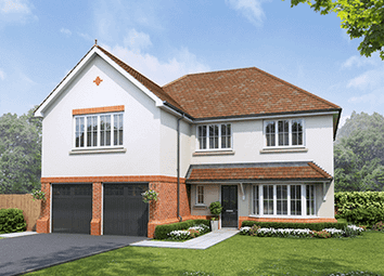 Thumbnail 5 bed detached house for sale in Plot 35, The Penrhos, Middlewich Road, Sandbach, Cheshire