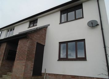 Thumbnail 1 bed flat to rent in Holwill Drive, Torrington, Devon