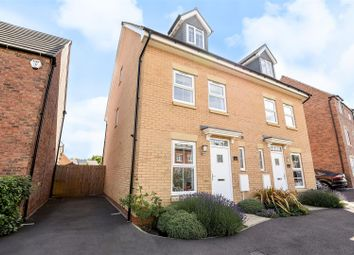 Thumbnail 3 bed town house for sale in Caithness Close, Orton Northgate, Peterborough