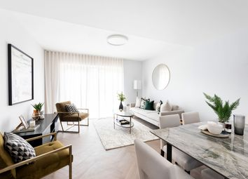 Thumbnail 3 bed flat for sale in Navarino Grove, London