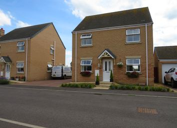 Thumbnail 4 bed detached house for sale in Roman Gardens, Eastrea, Peterborough