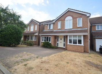Thumbnail 5 bed detached house for sale in Barnes Close, Hadleigh, Ipswich